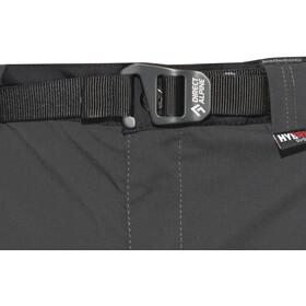Directalpine Patrol Tech 1.0 - Pantalones Hombre - gris/negro